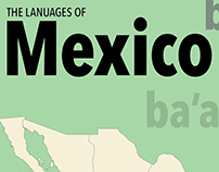 Mexico Languages Poster