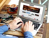 Azdef Website Design