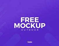 Free Mockup Outdoor