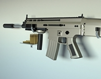FN Scar Model