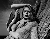 Ms fur coat 2016皮草广告大片拍摄