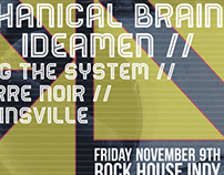 Screaming Mechanical Brain/ RockHouse Indy