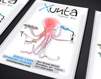 Xunta Tapas Bar Flyer