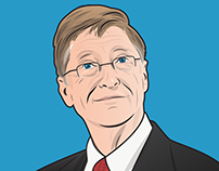 Color portraits for Business Insider