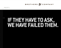 Brothers & Co website