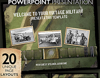 Vintage Military Powerpoint Presentation