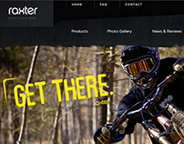 Raxter Racks website