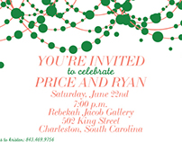 Custom Wedding Party & Event Invitations by Bon Vivant