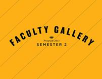 Monash Falculty Gallery Semester 2 2011 Brochure