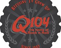 Q104 Beer Coaster Designs