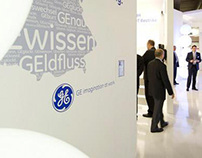 GE Lighting booth at Light+Building 2012 / Frankfurt