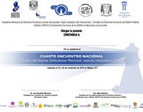 Cuarto Encuentro Nacional. XX años Sist. Ombudsman
