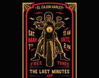 Harley Davidson Summer Concert Poster
