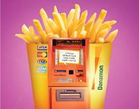 ATM Danamon - McDonald's Promo