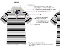SS'11 - Westside Mens Casual Polo Tee Stripe Collection