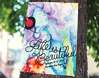 Life Is Beautiful: Festival Poster & Merchandise