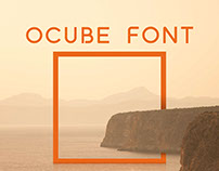 KIN   Ocube - Just the font