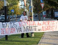 Manifestação Via do Infante Faro 01-10-2012