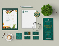 Green Bean Coffee Branding