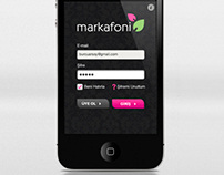 Markafoni iPhone App UX & UI Design