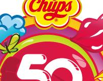 Logo Chupa Chups 50 Aniversario