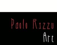 """Brochure """"Paolo Rizzu Art"""""""