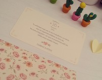 Wedding wishing card [GR]