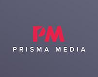 Prisma Media — Rebranding