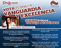 Imagen de Plantilla Estudiantil VANGUARDIA Y EXCELENCIA