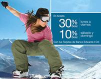 Banco Edwards I Citi Campaña Nieve 2012