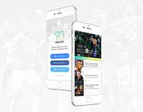 90 Minutes - UI/UX Design