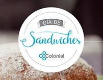 Colonial / Día de Sandwiches.