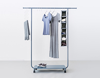 Roommate garment racks and accessories