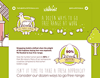 A Dozen Ways To Go Free Range At Work - Infographic