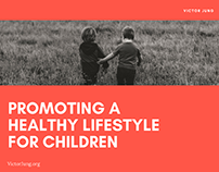 Promoting a Healthy Lifestyle For Children