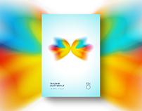 Madam Butterfly - flyer design