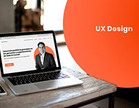UI/UX Web Design for a Motivational Speaker Co