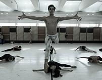 Ballet rehearsal (gyori ballett)
