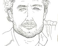 Line portraits
