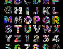 Font & Digital Paintings