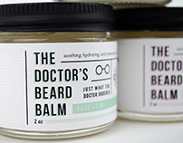 The Doctor's Beard Balm