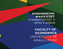 Redesign of visual identity of the Faculty of Economics