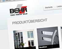 Behr GmbH Webdesign