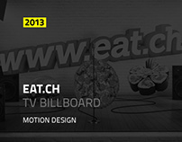 EAT.CH TV Billboard