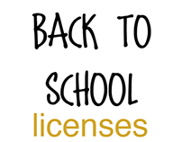 Back to School licenses