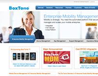 BoxTone Redesign