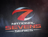 Rugby – National Sevens Series Identity