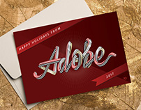 Adobe Holiday Card 2017