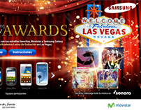 Landing Trivia Movistar-Samsung Galaxy Awards