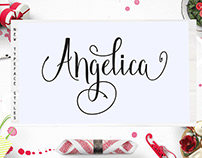 Angelica Script Free Font